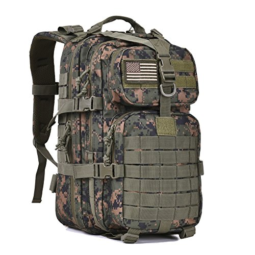 Military Tactical Assault Pack Backpack Army Molle Bug Bag Backpacks Rucksack for Outdoor Hunting...