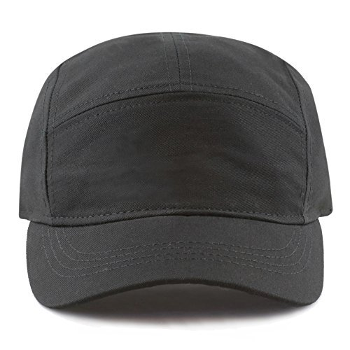 THE HAT DEPOT Exclusive Made in USA Cotton 5 Panel Unstructured Outdoor Cap
