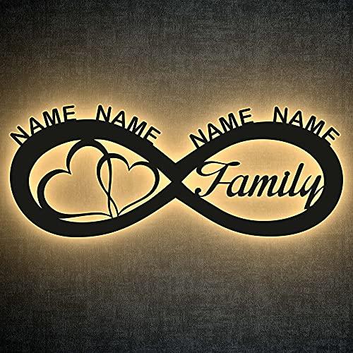 LEON - FOLIEN love my Family Deko Bild