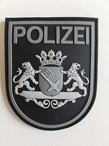 ATG Ärmelabzeichen Polizei Bremen 3 D Rubber Patch (BlackOps)