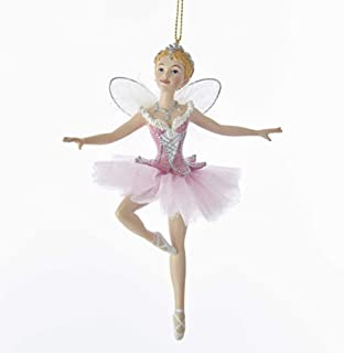 Kurt Adler Sugar Plum Fairy With Wings Ornament