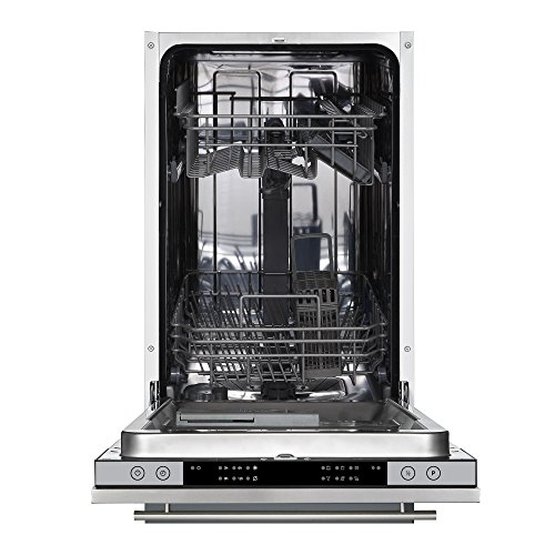Cookology CBID450 45cm Fully Integrated, Built-in Slimline Dishwasher | 10 Place Setting