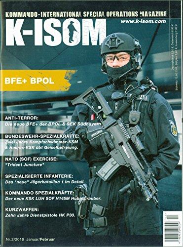 K-ISOM 2/2016 Special Operations Spezialkräfte Magazin Kommando Bundeswehr Waffe