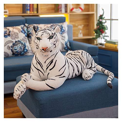 ぬいぐるみ 30-120センシ巨大な巨大な虎のぬいぐるみ動物の赤ちゃん美しい大きさの虎ぬいぐるみソフトピローキッズクリスマスプレゼント (Farbe : White, Höhe : 90cm)