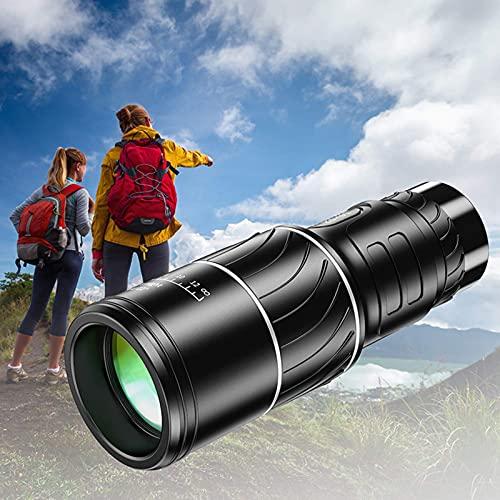 DYBITTS 40x60 Telescopio monocular de Alta Potencia Impermeable Monocular para Acampar 8000M Prismáticos para Exteriores Catalejo para Caza Camping para niños