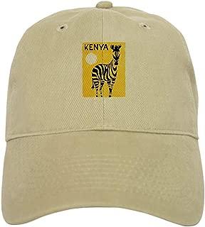 Kenya Travel Poster 1 Baseball Cap