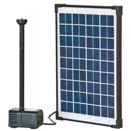 Solar-Teichpumpen-Set HEISSNER SP610, 610 l/h,mit Panel