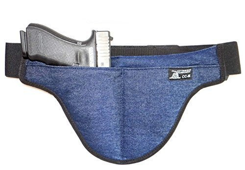 Medium - DTOM Denim Possum Pouch Crotch Carry Holster