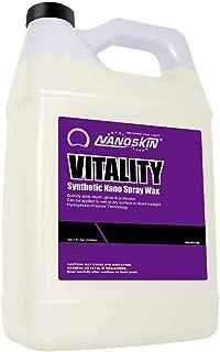 Nanoskin (NA-VIT128) Vitality Synthetic Nano Spray Wax - 1 Gallon