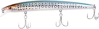 "Dr.Fish Fishing Lure Minnow Lures Long Shot 3D Eyes Hard Bait Fishing Tackle Floating Short Tongue Plate 0.48oz 5.1"" Bass ..."