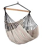 LA SIESTA Habana Zebra - Organic Cotton Comfort Size Hammock Chair