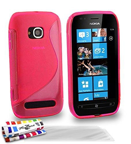 Muzzano Schutz schmal Nokia Lumia 710von MUZZANO der Schutz stoßfest ultimative, elegante und nachhaltige für Ihr Nokia Lumia 710