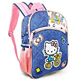 Hello Kitty Backpack for Girls Kids - Deluxe Large 16' Hello Kitty School Bag Bundle Hello Kitty Merchandise (Hello Kitty School Supplies)
