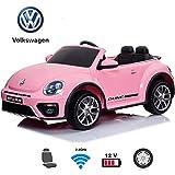 Coche Eléctrico para Niños con Control Remoto Volkswagen Beetle