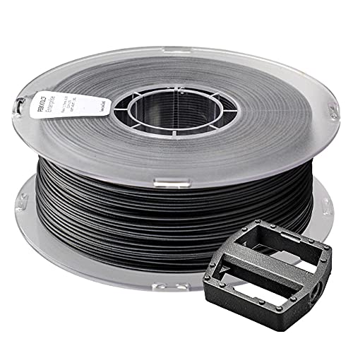 3D Printer Filament 1.75mm PA12-CF Carbon Fiber Reinforced Nylon No Warpage Material Black 1kg Spool