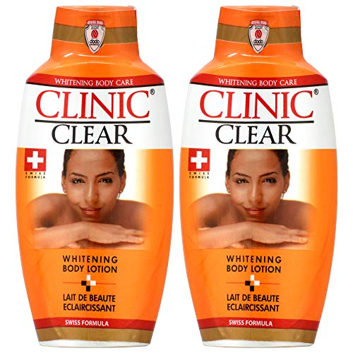 Clinic Clear Whitening Body Lotion 16.9oz...