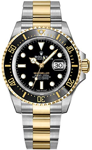Rolex Sea-Dweller Solid 18k Yellow Gold and Oystersteel Men's Watch 126603