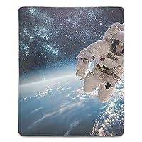 宇宙飛行士スペースマウスパッド ゲーミング マウスパッド キーボードパッド パソコンデスクパッド 防水 18*22cm