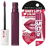 Maybelline New York Super Stay Matte Ink Liquid Lipstick, 40 Believer, 5ml And