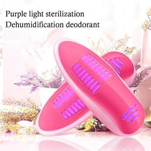 Iiloens Tragbarer violetter heller keimtötender Desodorierungs-Schuh-Trockner Händetrockner