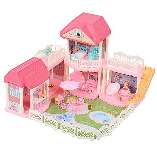 Ausla Juguete de Bricolaje para niños, Muebles únicos, sofá, casa de Juguete, casa de muñecas en Miniatura, Capacidad práctica, bañera para el hogar de los niños