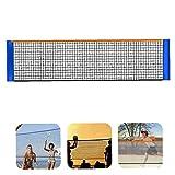 Net de badminton Filet Mini Tennis Volleyball Mini Tennis Filet pour la formation de match 4M