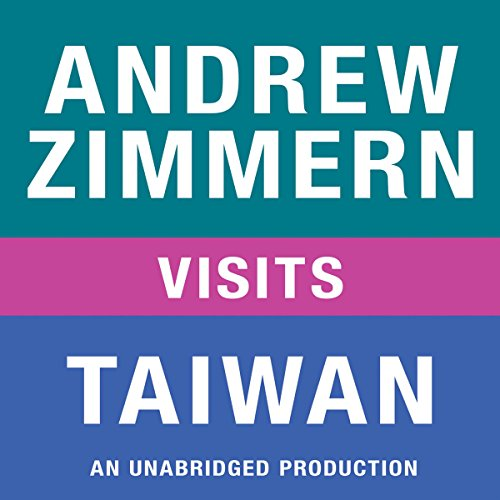 Andrew Zimmern Visits Taiwan audiobook cover art
