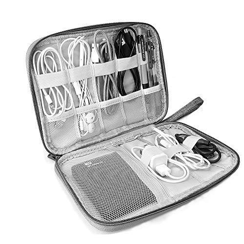 Lazz1on Accesorios Electrónicos Bolsa De Viaje Organizador de Cables para Unidad USB...