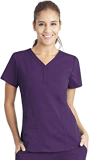 healing hands Purple Label Women's Jane 2167 V-Neck 2 Pocket Top Scrubs