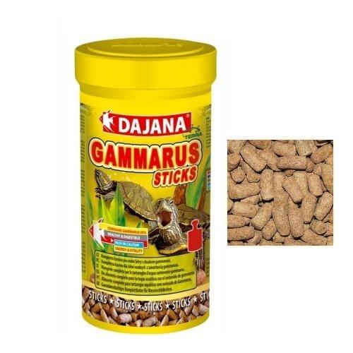 Dajana Gammarus Sticks - Mangime completo in pellet contenente gammarus, per tartarughe d'acqua (1000 ml)