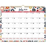 2021-2022 Wall Calendar - 18 Months Hanging Wall Calendar 2021-2022, 14.75' x 11.5', July 2021 - December 2022, Flexible with Julian Date, Colorful Calendar for School, Office & Home Planning and Organizing