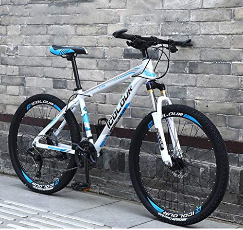 Photo of ZTYD 26″ 24-Speed Mountain Bike for Adult, Lightweight Aluminum Full Suspension Frame, Suspension Fork, Disc Brake,A1,24Speed