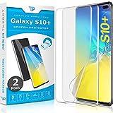 Power Theory Schutzfolie für Samsung Galaxy S10 Plus [2 Stück] - [KEIN Glas] 3D Nano-Tech Panzerglasfolie, Panzerglas Folie, 100prozent Fingerabdrucksensor, Einfache Installation, Bildschirmschutz Panzerfolie