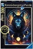Ravensburger Puzzle, Puzzle 500 Piezas, Lobo Brillante, Puzzles para Adultos, Puzzle Animales, Rompecabezas Ravensburger de Alta Calidad