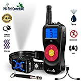 My Pet Command 2600 FT Range (0.5 Mile) 4-1 Citronella Dog Training Collar with Remote, Spray,Vibrate,Tone and Night Light Functions Safe, Humane, No Shock Waterproof Rechargeable Add up to 3 Collars