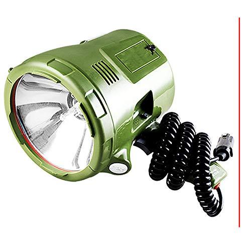 YYHSND Riflettore Marino 160W proiettore Nascosto 160 W 12V100W Lampada allo Xeno 35W / 55W / 65W / 75W proiettore Portatile for Auto da Caccia Nave da Campeggio Torcia elettrica (Size : 100W)