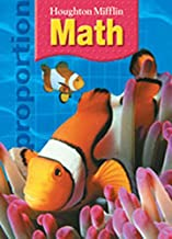 Houghton Mifflin Math: Homework Book (Consumable) Grade 6