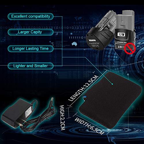 PROSmart Veste Chauffante pour Hommes Veste À Capuche Imperméable avec Batterie 12V (Noir, XL)