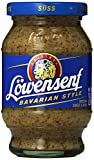 German Löwensenf Bavarian Sweet Mustard Jar 250ml/8.7oz From germany