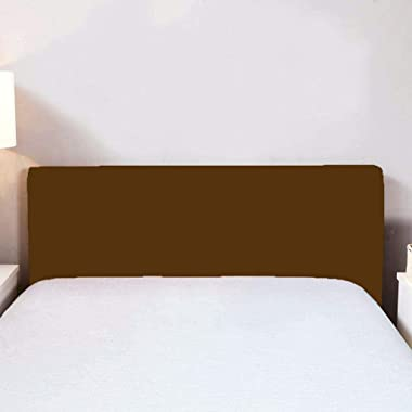 D DOLITY for Headboard Protective Cover, Coffee, 150x80cm
