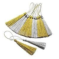 フリンジ 手芸用品 キーホルダー カーテン飾り 服装改造 縫製用具 タッセル 約30本セット