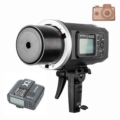 Godox HSS AD600B Bowens Mount 600Ws GN87 High Speed Sync Outdoor Flash Strobe Light with X1T-N Wireless Flash Trigger, 8700mAh Battery Pack to Provide 500 Full Power Flashes for Nikon