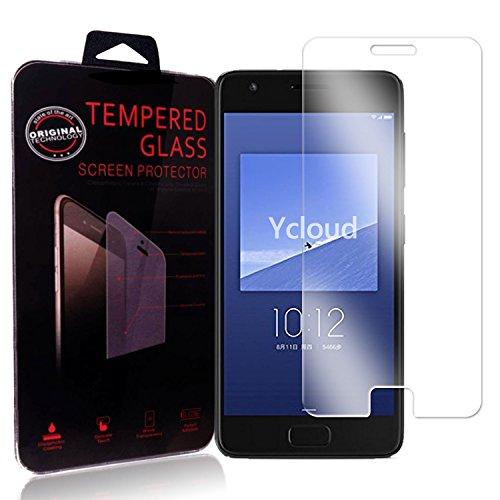Ycloud Panzerglas Folie Schutzfolie Bildschirmschutzfolie für ZUK Z2 (5.0 Zoll) screen protector mit Festigkeitgrad 9H, 0,26mm Ultra-Dünn, Abger&ete Kanten
