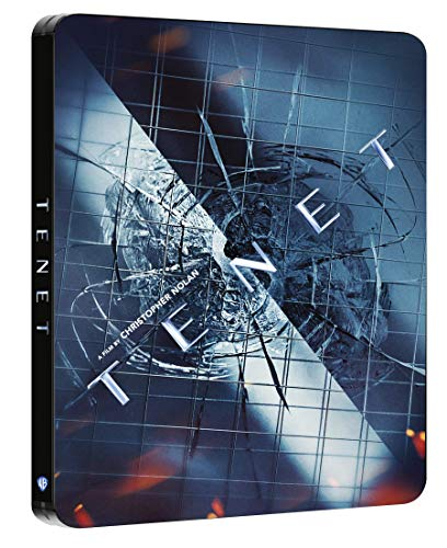 Tenet (DTS-HD Master Audio 5.1) (Steelbook 4K Ultra HD + Blu Ray)