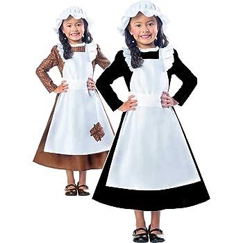 Clarendon Costumes By Amscan Disfraz de niña Victoriana con Texto ...
