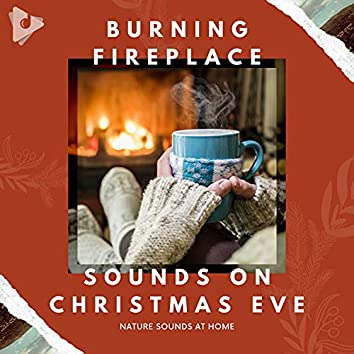 Burning Fireplace Sounds on Christmas Eve