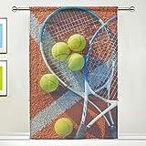 CPYang Tenda Velata con Racchetta da Tennis, Tenda Drappeggio per Soggiorno, Camera da Let...