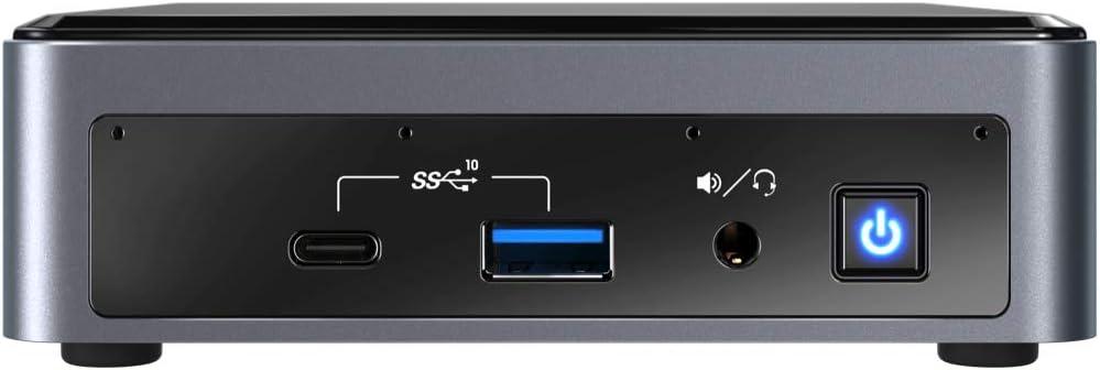 Thunderbolt Card Reader HDMI 16GB RAM Bluetooth Intel NUC10i7FNK Mini PC 512GB NVMe SSD Windows 10 Pro Wi-Fi Intel Core i7-10710U Upto 4.7GHz