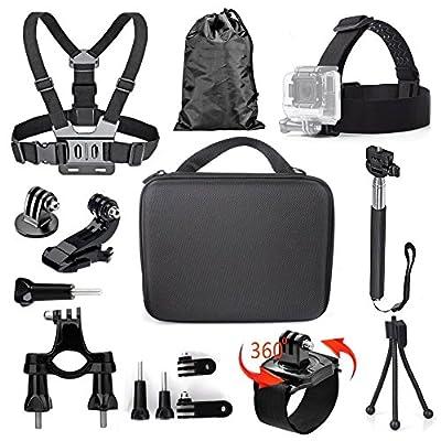 Tekcam Action Camera Accessories Bundle Kits Compatible Waterproof Sports Outdoor Camera from Tekcam