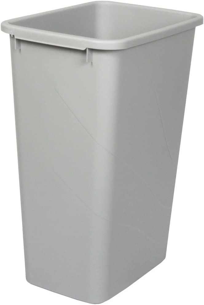 Knape Vogt QT50PB-P Replacement Trash Philadelphia Mall by Spring new work Can 21.56-Inch 15.55